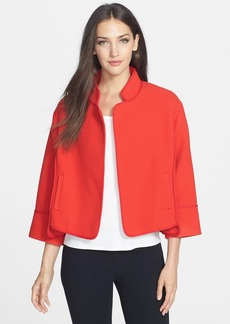 Classiques Entier® 'Bella' Texture Wool Blend Jacket