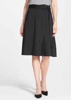 Classiques Entier® Belted Full Skirt (Regular & Petite)