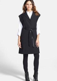 Classiques Entier® Belted Long Crepe Vest