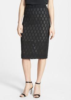 Classiques Entier® Braided Jacquard Pencil Skirt