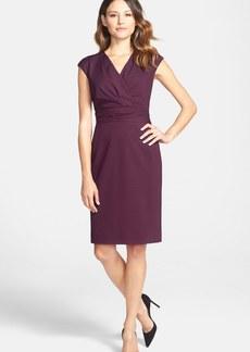 Classiques Entier® Cap Sleeve Ponte Sheath Dress