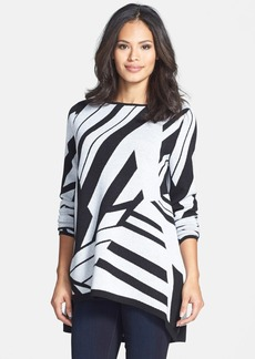 Classiques Entier® Cape Back Merino Jacquard Sweater