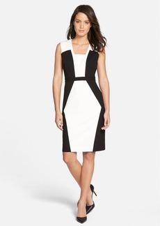 Classiques Entier® Colorblock Ponte Sheath Dress
