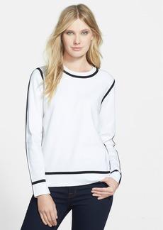 Classiques Entier® Contrast Trim Crewneck Sweater