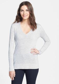 Classiques Entier® Deep V-Neck Cashmere Sweater