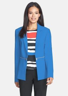 Classiques Entier® 'Delphine Weave' Zip Detail Jacket