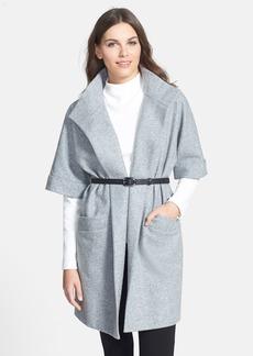 Classiques Entier® 'Dover' Wool Blend Flannel Wrap Jacket