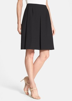 Classiques Entier® 'Edie' Textured Pleated Skirt