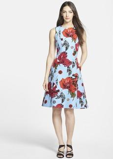 Classiques Entier® Fit & Flare Cotton & Silk Dress