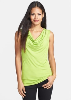 Classiques Entier® 'Flawless Jersey' Drape Neck Sleeveless Top