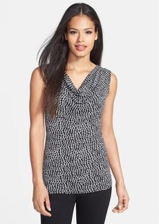 Classiques Entier® 'Flawless Jersey' Print Drape Neck Top