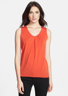 Classiques Entier® Gathered Neck Stretch Knit Top