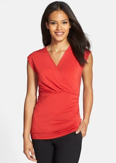 Classiques Entier® Gathered V-Neck Top