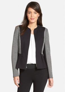 Classiques Entier® 'Giana' Ponte & Double Knit Jacket