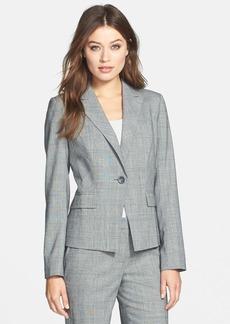 Classiques Entier® Glen Plaid Wool Suiting Jacket