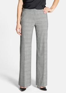 Classiques Entier® Glen Plaid Wool Suiting Trousers
