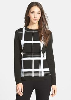 Classiques Entier® Graphic Pattern Crewneck Sweater