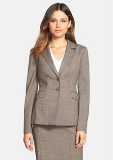 Classiques Entier® 'Highland' Wool Suiting Jacket (Regular & Petite)