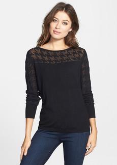 Classiques Entier® Houndstooth Burnout Sweater