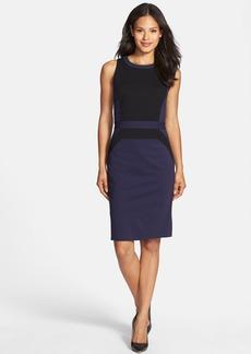Classiques Entier® Italian Ponte Colorblock Dress