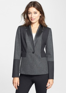 Classiques Entier® 'Jesi' Colorblock Flannel Jacket