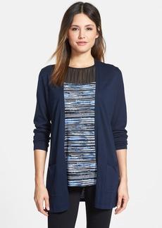 Classiques Entier® Long Silk & Cotton Cardigan