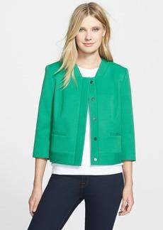 Classiques Entier® 'Luxor' Double Weave Crop Jacket
