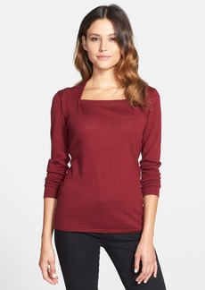 Classiques Entier® Merino Envelope Neck Sweater