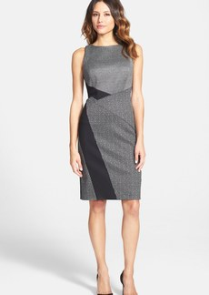 Classiques Entier® Mixed Media Sheath Dress