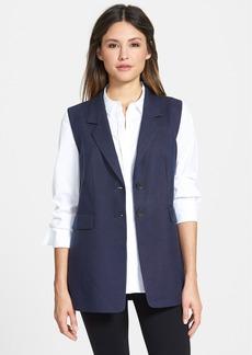 Classiques Entier® Notch Collar Canvas Vest
