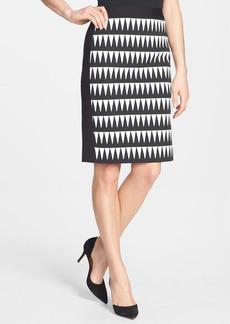 Classiques Entier® Novelty Pattern Ponte Pencil Skirt