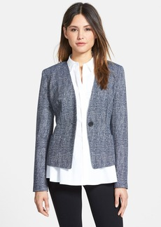 Classiques Entier® One-Button Tweed Jacket