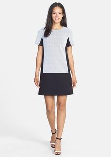Classiques Entier® Outline Lace & Ponte Shift Dress