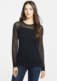 Classiques Entier® Pointelle Knit Crewneck Pullover (Regular & Petite)