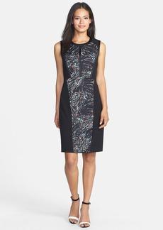 Classiques Entier® Print Block Twill Sheath Dress