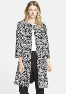 Classiques Entier® Print Cotton & Silk Blend Topper (Regular & Petite)