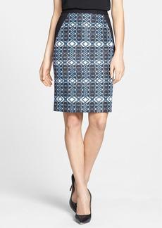 Classiques Entier® Print Faille Skirt