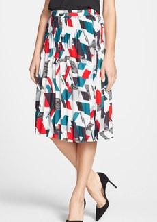 Classiques Entier® Print Pleat Skirt