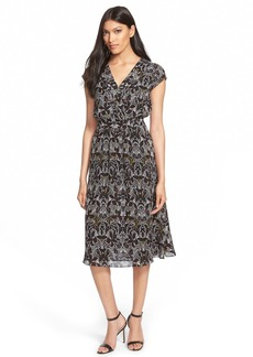 Classiques Entier® Print Silk Dress