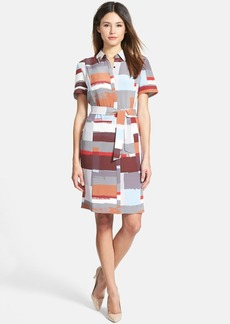 Classiques Entier® Print Silk Shirtdress