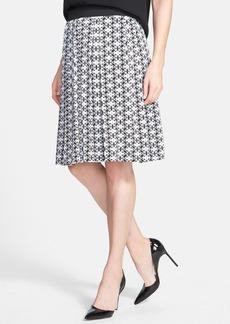 Classiques Entier® Print Stretch Silk Full Skirt