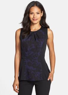 Classiques Entier® 'Refined Silk' Print Block High/Low Top