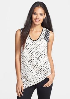 Classiques Entier® Reverse Print Stretch Silk Top