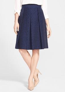 Classiques Entier® 'Ribbon Weave' Full Pleat Skirt