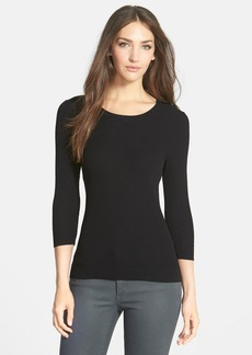 Classiques Entier® Scoop Neck Ribbed Pullover