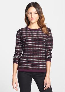 Classiques Entier® 'Serene' Plaid Jacquard Sweater