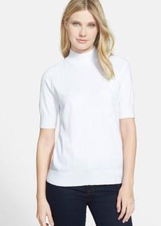 Classiques Entier® Short Sleeve Mock Neck Pullover