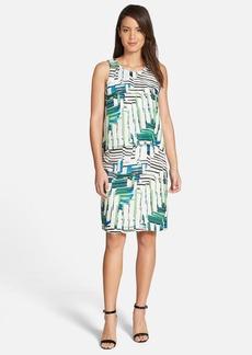 Classiques Entier® Silk Chiffon Popover Dress (Regular & Petite)