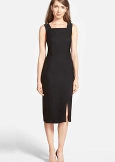 Classiques Entier® Square Neck Sheath Dress (Regular & Petite)