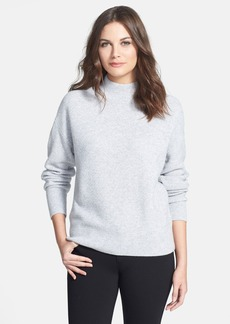 Classiques Entier® 'Staccato' Wool & Cashmere Mock Neck Pullover
